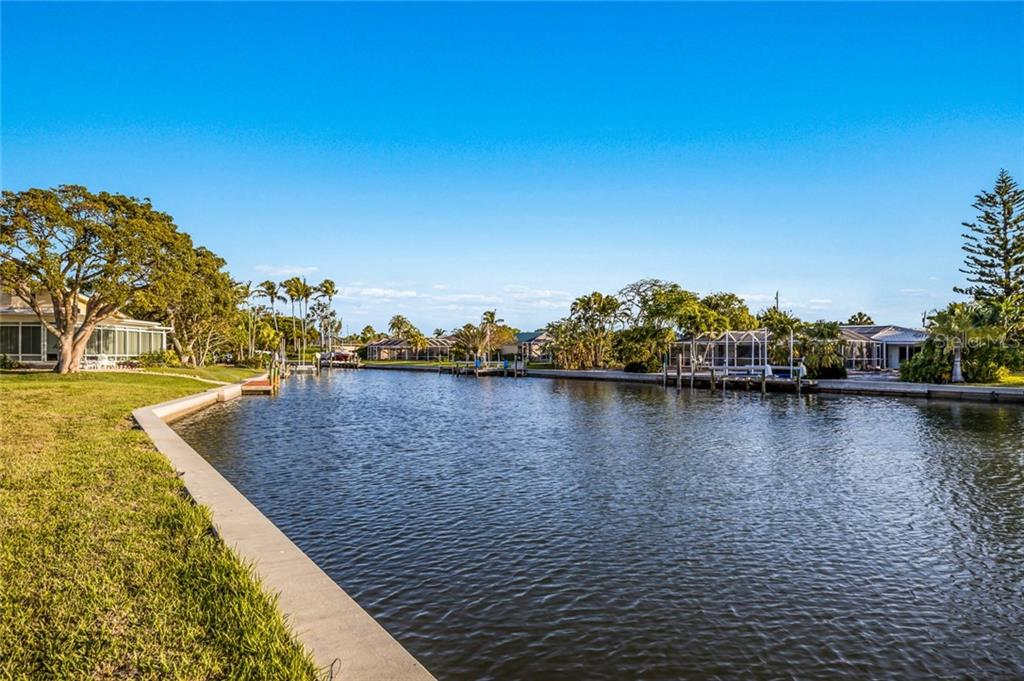 Northern view of canal - Vacant Land for sale at 5910 Gulf Of Mexico Dr, Longboat Key, FL 34228 - MLS Number is A4450538
