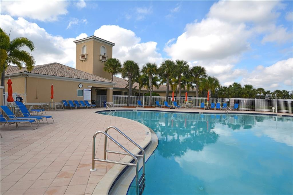 Community Pool - Single Family Home for sale at 5799 Benevento Dr, Sarasota, FL 34238 - MLS Number is A4450677