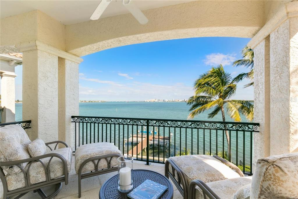 Second floor master bedroom with city views. - Single Family Home for sale at 901 Norsota Way, Sarasota, FL 34242 - MLS Number is A4456224