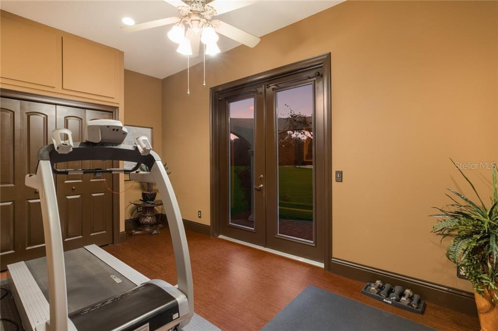 Fitness Room in Owner's Suite - Single Family Home for sale at 1122 143rd St Ne, Bradenton, FL 34212 - MLS Number is A4458201