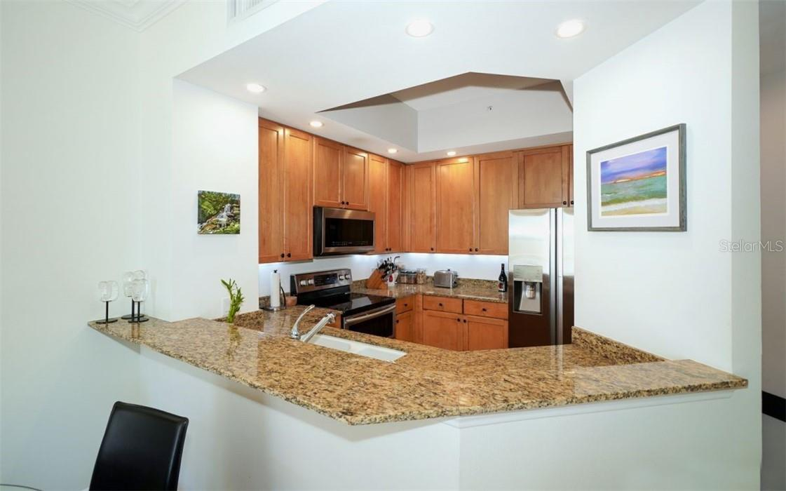 Kitchen - Condo for sale at 100 Central Ave #A304, Sarasota, FL 34236 - MLS Number is A4458873