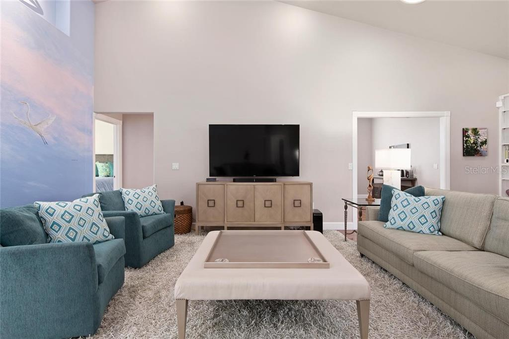 Living room - Single Family Home for sale at 448 Baynard Dr, Venice, FL 34285 - MLS Number is A4459566