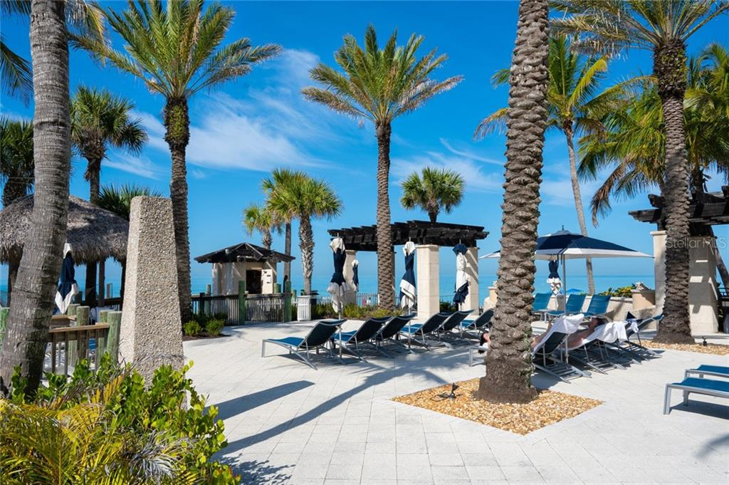direct access to the white sands of LIDO BEACH on Lido Key - Condo for sale at 1300 Benjamin Franklin Dr #805, Sarasota, FL 34236 - MLS Number is A4462621
