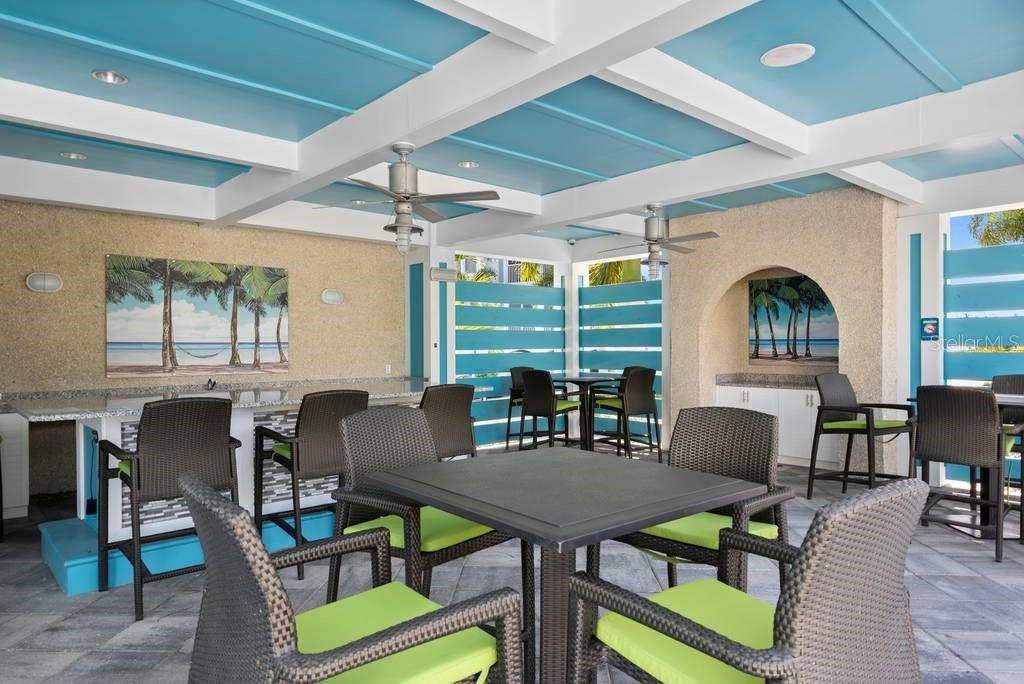 Covered pool house at Margaritaville - Condo for sale at 383 Aruba Cir #201, Bradenton, FL 34209 - MLS Number is A4466540