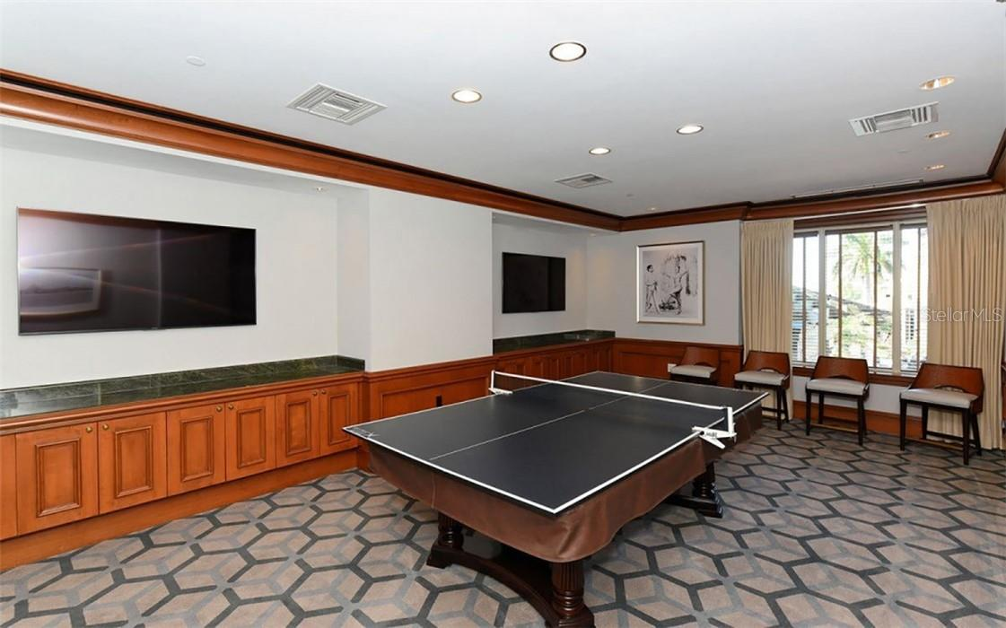 One of the luxurious amenities at the Ritz - Carlton, onsite theater - Condo for sale at 1300 Benjamin Franklin Dr #708, Sarasota, FL 34236 - MLS Number is A4471978