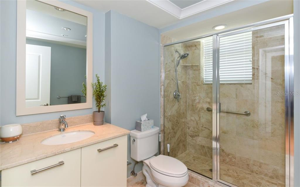 Second bath - Condo for sale at 1350 Main St #1001, Sarasota, FL 34236 - MLS Number is A4472708