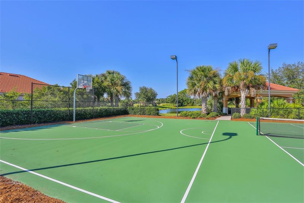 Community pickle ball and basketball - Single Family Home for sale at 684 Crane Prairie Way, Osprey, FL 34229 - MLS Number is A4478575