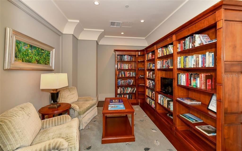 Library - Condo for sale at 1350 Main St #1601, Sarasota, FL 34236 - MLS Number is A4478753
