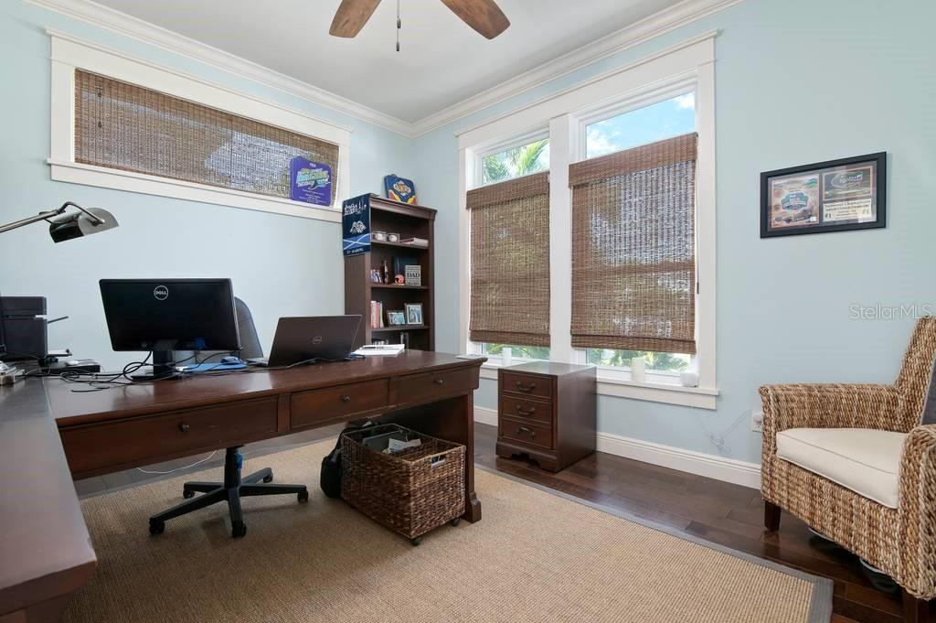 Second floor office. - Single Family Home for sale at 718 Key Royale Dr, Holmes Beach, FL 34217 - MLS Number is A4480381