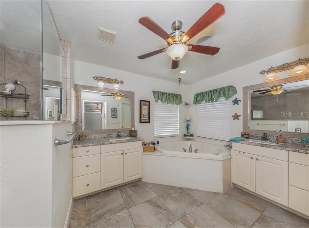 Master bath - Single Family Home for sale at 1395 Bayshore Dr, Englewood, FL 34223 - MLS Number is A4480508