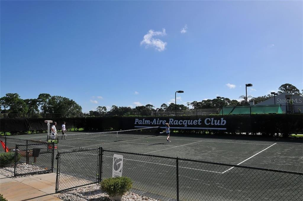 Palm Aire Country Club tennis - Villa for sale at 4812 Lakescene Pl, Sarasota, FL 34243 - MLS Number is A4486070