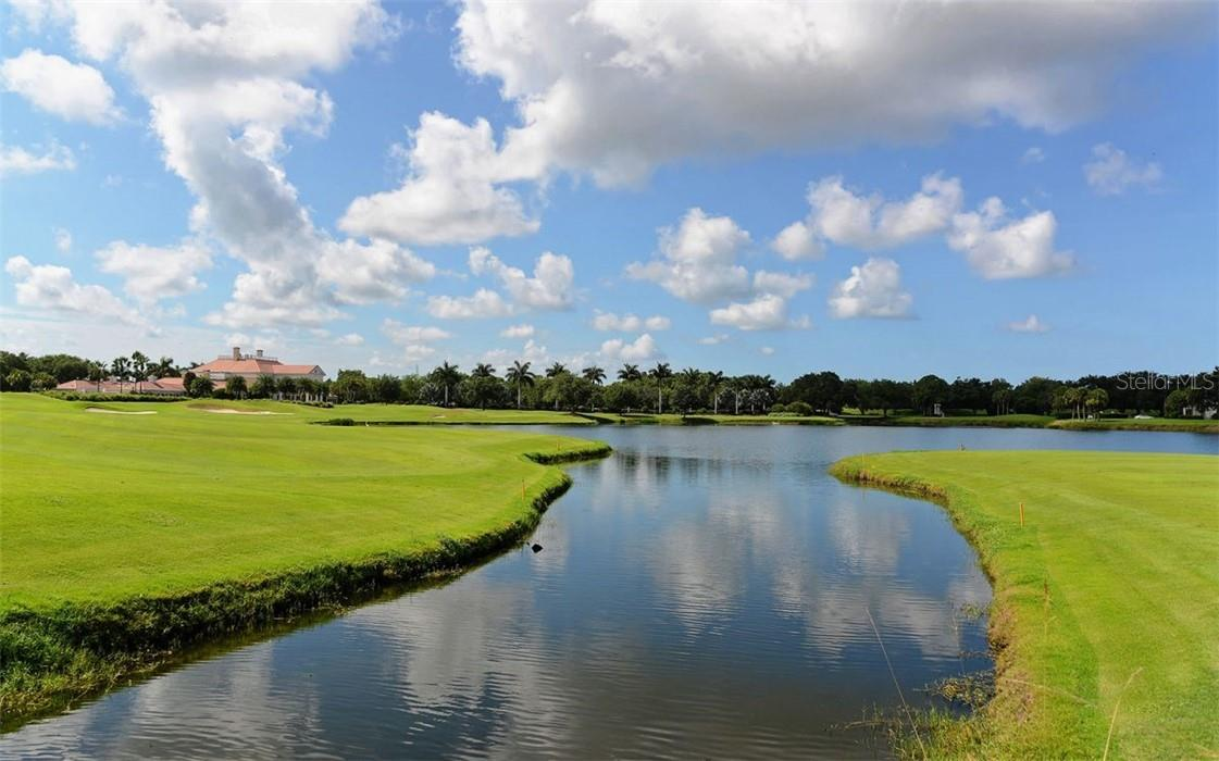 Two fabulous 18 hole golf courses - Condo for sale at 409 N Point Rd #402, Osprey, FL 34229 - MLS Number is A4491620