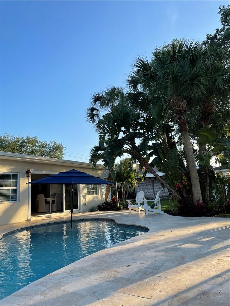 Brand new custom inground salt water pool. - Single Family Home for sale at 1633 Ridgewood Ln, Sarasota, FL 34231 - MLS Number is A4496839