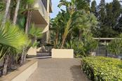 Secure entrance, private pool - Condo for sale at 4900 Ocean Blvd #503, Sarasota, FL 34242 - MLS Number is A4171070