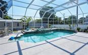 Fabulous heated pool and spa, screened enclosure. - Single Family Home for sale at 6239 Hollywood Blvd, Sarasota, FL 34231 - MLS Number is A4182790