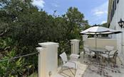 Balcony - Townhouse for sale at 68 Bishops Court Rd #115, Osprey, FL 34229 - MLS Number is A4187983