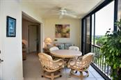 Enclosed balcony with sliders - Condo for sale at 5855 Midnight Pass Rd #628, Sarasota, FL 34242 - MLS Number is A4190416
