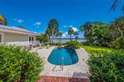 Pool and Guest House - Single Family Home for sale at 420 N Casey Key Rd, Osprey, FL 34229 - MLS Number is A4198418