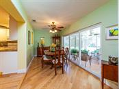Dining Room - Single Family Home for sale at 411 Lyons Bay Rd, Nokomis, FL 34275 - MLS Number is A4209146