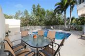 Private pool and hot tub - Single Family Home for sale at 455 Canal Rd, Sarasota, FL 34242 - MLS Number is A4209817