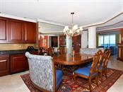 Dining Area w/Wet Bar - Condo for sale at 1300 Benjamin Franklin Dr #603, Sarasota, FL 34236 - MLS Number is A4213631