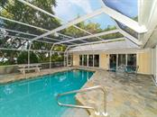 Pool - Pool Cabana with Outdoor Shower - Single Family Home for sale at 916 N Casey Key Rd, Osprey, FL 34229 - MLS Number is A4408082