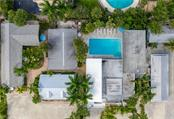 Drone View - Single Family Home for sale at 1101-1105 Point Of Rocks Rd, Sarasota, FL 34242 - MLS Number is A4415890