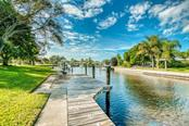 Looking down the canal - Single Family Home for sale at 5548 Shadow Lawn Dr, Sarasota, FL 34242 - MLS Number is A4423461