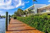 40 ft dock just steps from the back of the Condo - Condo for sale at 4115 129th St W #4115, Cortez, FL 34215 - MLS Number is A4424939