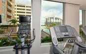 Work out while overlooking the pool - Condo for sale at 1350 Main St #1201, Sarasota, FL 34236 - MLS Number is A4427507