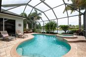 Salt water heated pool - Single Family Home for sale at 13818 Nighthawk Ter, Lakewood Ranch, FL 34202 - MLS Number is A4438487
