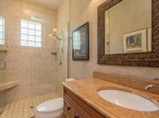 1st Floor guest bathroom - Single Family Home for sale at 158 Puesta Del Sol, Osprey, FL 34229 - MLS Number is A4439362