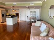 Living room - Condo for sale at 1350 Main St #804, Sarasota, FL 34236 - MLS Number is A4451085