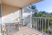 Tiled front lanai - Condo for sale at 9570 High Gate Dr #1722, Sarasota, FL 34238 - MLS Number is A4457005