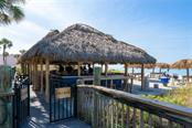 Tiki Bar on Lido Key Beach - Condo for sale at 1300 Benjamin Franklin Dr #805, Sarasota, FL 34236 - MLS Number is A4462621