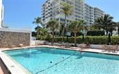 Heated pool. - Condo for sale at 1770 Benjamin Franklin Dr #706, Sarasota, FL 34236 - MLS Number is A4469463