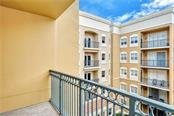 Courtyard balcony - Condo for sale at 1064 N Tamiami Trl #1522, Sarasota, FL 34236 - MLS Number is A4479270