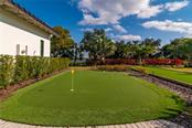 The Putting Green and Bocce Ball Court. - Single Family Home for sale at 11720 Rive Isle Run, Parrish, FL 34219 - MLS Number is A4486302