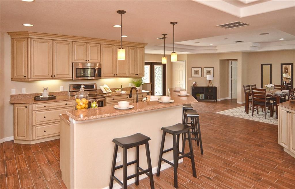 Kitchen/Foyer/Dining Room - Single Family Home for sale at 2505 Northway Dr, Venice, FL 34292 - MLS Number is N5911099