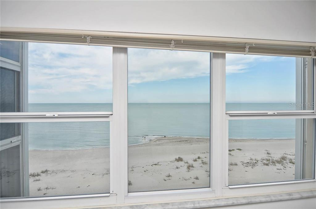View of gulf from master bedroom - Condo for sale at 255 The Esplanade N #805, Venice, FL 34285 - MLS Number is N5912261