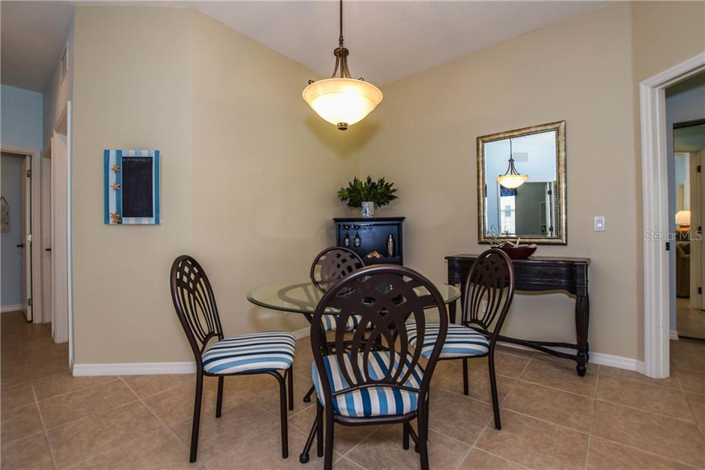 Dining Room - Villa for sale at 1641 Monarch Dr #1641, Venice, FL 34293 - MLS Number is N5913259