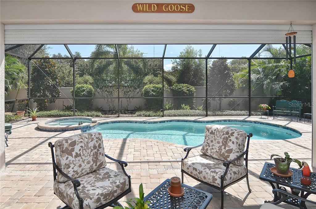 Lanai/pool - Single Family Home for sale at 293 Marsh Creek Rd, Venice, FL 34292 - MLS Number is N5914238