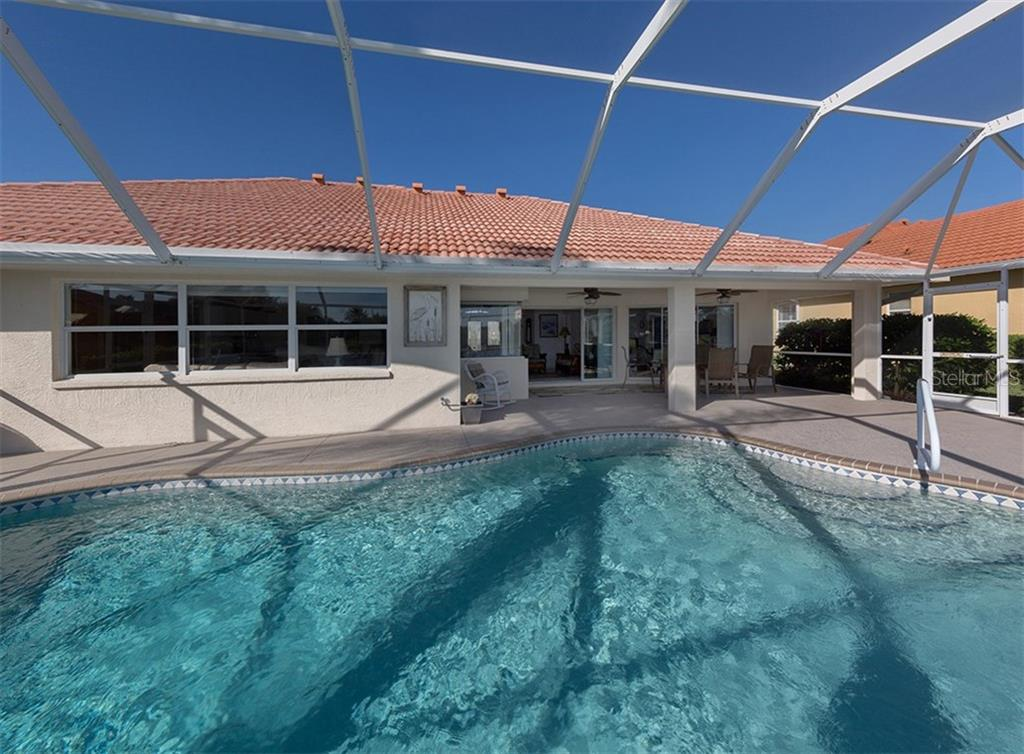 Pool/lanai - Single Family Home for sale at 866 Wood Sorrel Ln, Venice, FL 34293 - MLS Number is N5915362