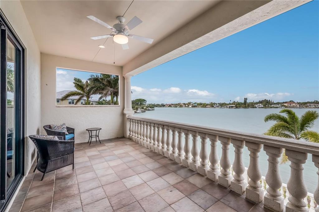 2nd floor balcony - Single Family Home for sale at 412 Sunrise Dr, Nokomis, FL 34275 - MLS Number is N5916248