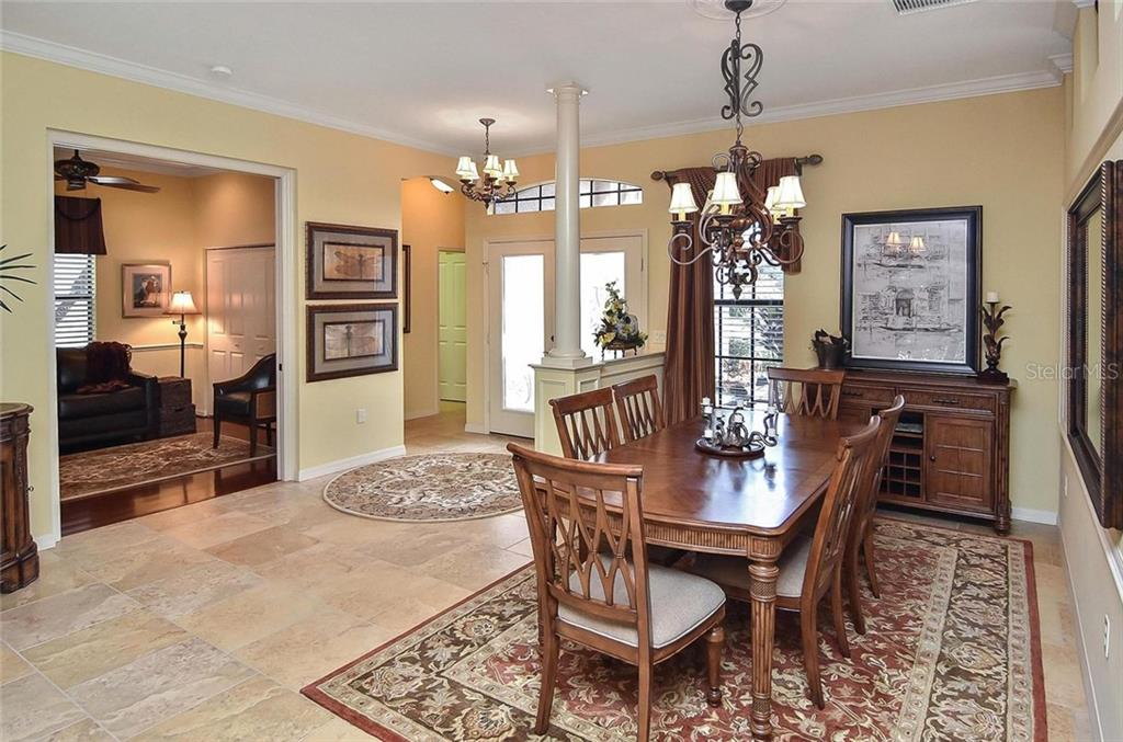 Dining room/foyer/3rd bedroom - Single Family Home for sale at 769 Sawgrass Bridge Rd, Venice, FL 34292 - MLS Number is N5916484