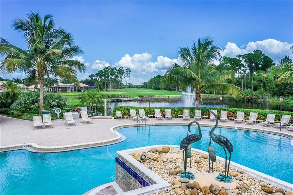 Sawgrass Community Resort Pool - Single Family Home for sale at 368 Marsh Creek Rd, Venice, FL 34292 - MLS Number is N6101204