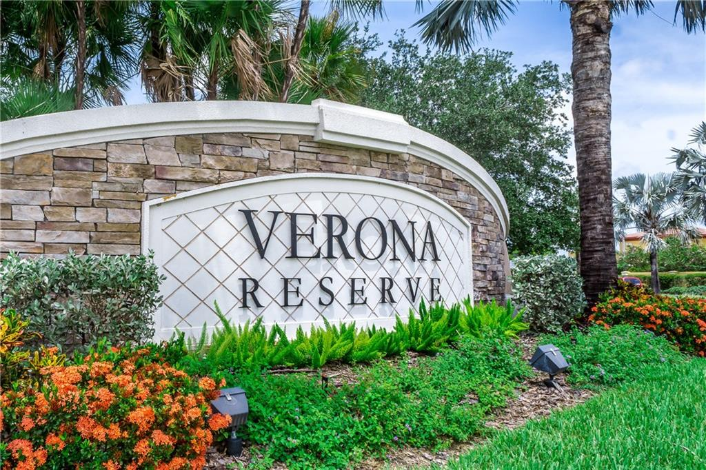 Entrance to Gated Verona Reserve - Single Family Home for sale at 2290 Terracina Dr, Venice, FL 34292 - MLS Number is N6101301