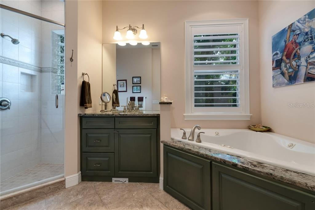 Guest bath with spa - Single Family Home for sale at 633 Apalachicola Rd, Venice, FL 34285 - MLS Number is N6102111