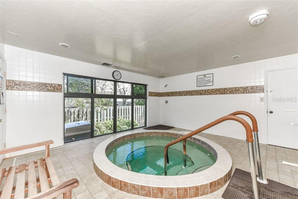 HOT TUB - Condo for sale at 5740 Midnight Pass Rd #505 F, Sarasota, FL 34242 - MLS Number is N6102195