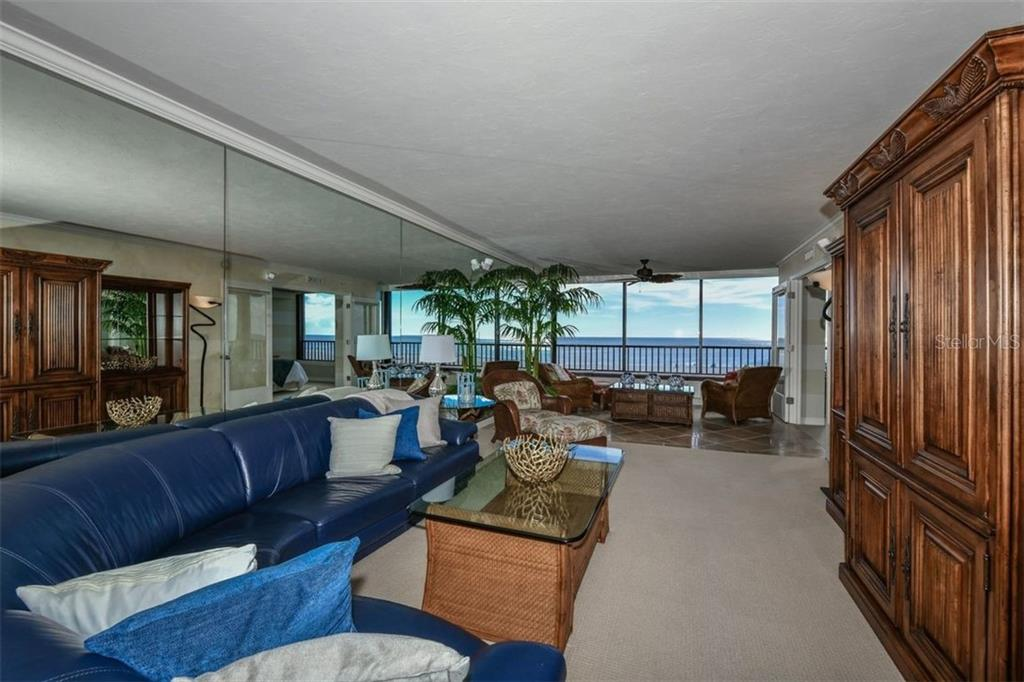 LIVING ROOM - Condo for sale at 5740 Midnight Pass Rd #505 F, Sarasota, FL 34242 - MLS Number is N6102195